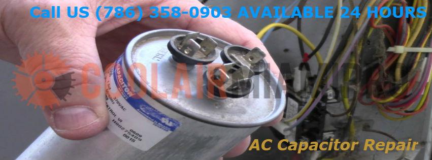 AC Capacitor Repair